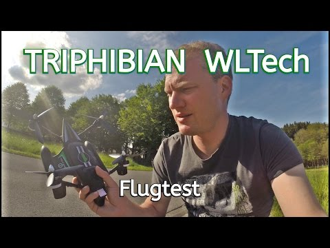 Triphian // Quadrokopter // Unboxing // WLTech // 2,4 Ghz // Flugtest