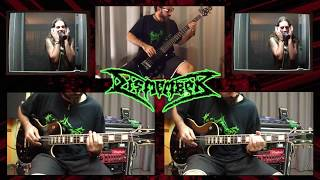 Dismember - Of fire (guit/bass/vocal cover)
