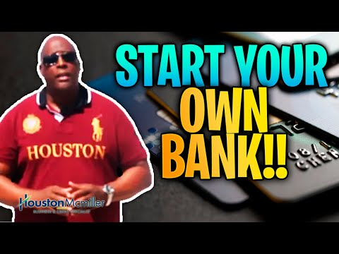How To Start Your Own Bank Using American Express Business Credit Cards?