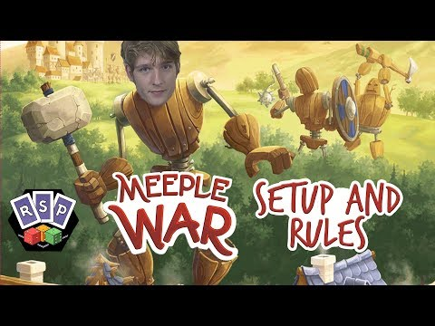 Meeple War Setup and Rules - Ready Steady Play