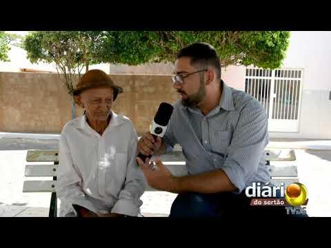 Aos 89 anos ex vereador de Bernardino Batista garante que ainda é virgem