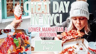 EATING EVERYTHING WE WANTED IN NYC! | Lower Manhattan & Midtown | VLOGMAS