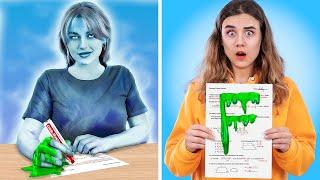 Öğretmeniniz Hayalet Olsaydı? / Okulda 14 Komik Durum