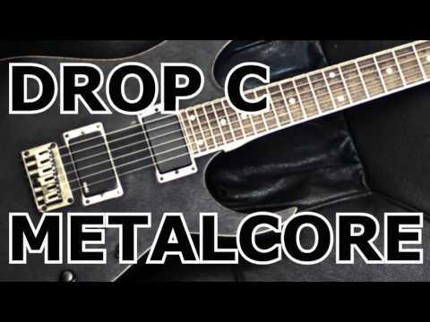 C Minor // Metalcore Drop C // Backing Track // 150BPM