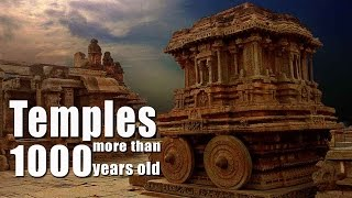 1000 Years Old Temples Of India | Top 20 Ancient Hindu Temples Of India | History