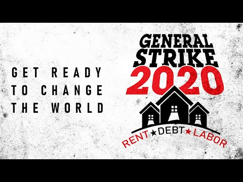 General Strike 2020: You Are Not Alone.