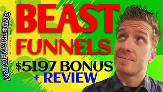 Beast Funnels Review, Demo, $5197 Bonus, BeastFunnels Review