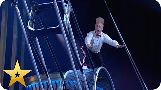 Will Bello and Annaliese Nock survive The Wheel of Death? | BGT: The Champions