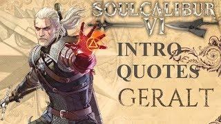 SOULCALIBUR VI - ALL GERALT OF RIVIA