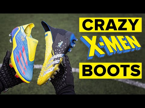 So these will split opinion… | adidas x Marvel boots play test