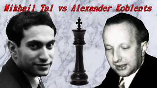 Partite Commentate Di Scacchi 331 - Tal Vs Koblents - TAN 30% TAEG 100% - 1961 [B99]