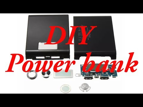 DIY power bank, compact , powerful and efficient from Banggood.com
