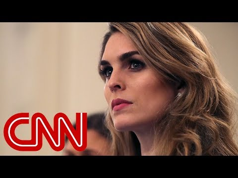 Hope Hicks resigning from White House