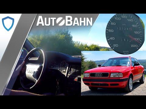 AutoBahn - Audi 80 B4 2.0E (1994) - Vmax | POV