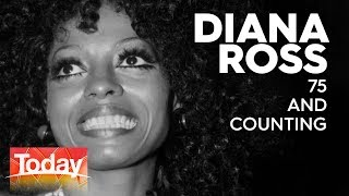 Diana Ross Celebrating 75 Years Of Shining | TODAY Show Australia