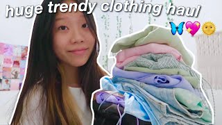 $1000 Trendy Summer/back To School Clothing Try On Haul