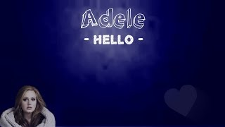 Adele  - Hello ► Traduction française