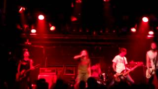 STRIKE ANYWHERE - PRISONER ECHOES LIVE IN MONTREAL 2011-10-02