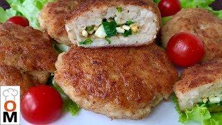 Сочные Мясные Зразы с Яйцом и Зеленым  Луком   Chicken Rissoles Recipes  Ольга Матвей