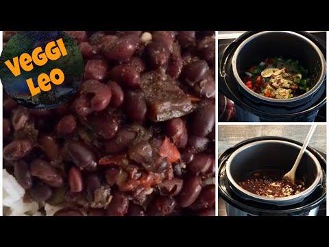 Vegane Schwarze Bohnen kubanische Art | Rezept First Multikocher | Instant Pot