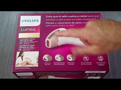 Philips Lumea Prestige BRI956 - Sistema IPL luz pulsada 250.000 pulsos, con sensor de piel