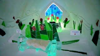 #892 Quebec City's WORLD FAMOUS Ice Hotel 2019 - Jordan The Lion Daily Travel Vlog (1/15/19)
