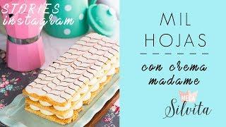 Milhojas de crema madame - Receta Instagram - MegaSilvita*Tienda y Blog*