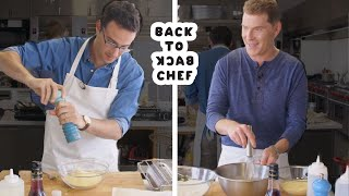 Bobby Flay Challenges Amateur Cook to Keep Up with Him | Back-to-Back Chef | Bon Appetit
