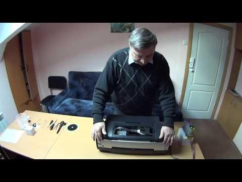 Разборка и ремонт принтера EPSON STYLUS 1410