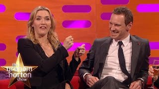 Kate Winslet Keeps Her Oscar In The Bathroom - The Graham Norton Show