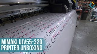 Unboxing Our New Mimaki UJV55-320 Printer