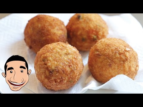 Sicilian Arancini Recipe | Homemade Italian Rice Balls Recipe
