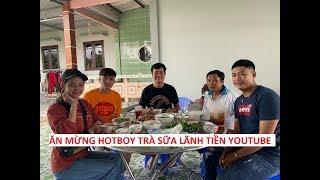 Tiệc mừng lãnh tiền youtube của Hotboy Trà Sữa đãi Khương Dừa chỉ có... mắm!!!!