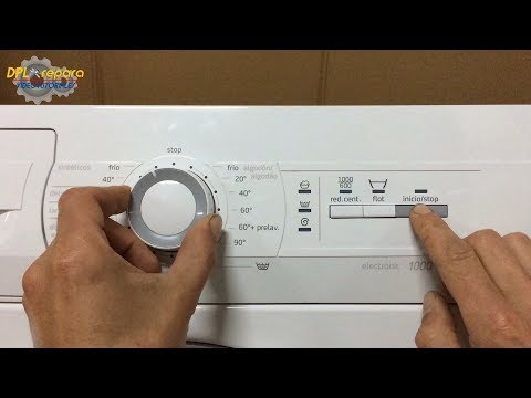 Reset lavadora Balay. [Balay washing machine reset ].