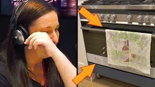 Husband Leaves Heavily Pregnant Wife In Terrible Debt. Then She Spots Something In The Oven