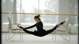 Смотреть онлайн Как тренируются гимнастки