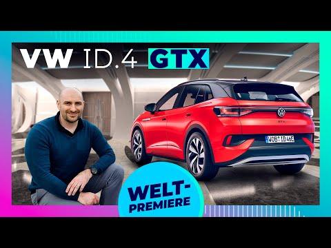 VW ID.4 GTX - Quersperre & 300PS: Der erste elektrische GTI?