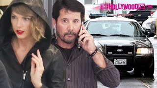 Taylor Swift's Bodyguard Calls The Cops On Fans & Paparazzi At Saint Laurent On Rodeo Drive