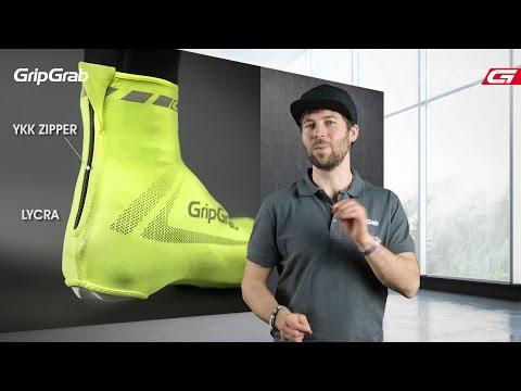 GripGrab RaceAero Hi-Vis gul video