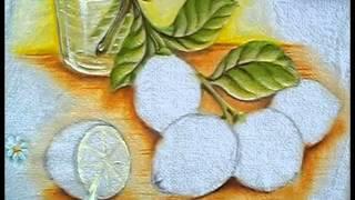 Como Pintar Limão – Na Pintura em Tecido