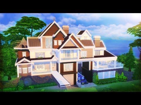 BEACH DREAM HOME Speed Build l The Sims 4