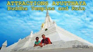 Это 9-й влог нашего 2-х дневного путешествия в Аюттайю из Бангкока. В этом видео мы расскажем о еще 3-х интересных Буддийских Храмах - Buddha Temples Ayutthaya, которые  посетили в private tour на второй день нашей поездки.    ★ WAT