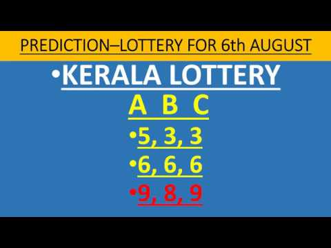Kerala Lottery ABC Number Guess