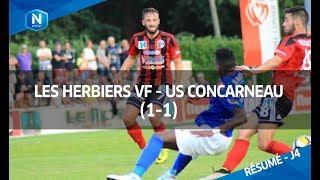 J4 : Les Herbiers - US Concarneau (1-1)