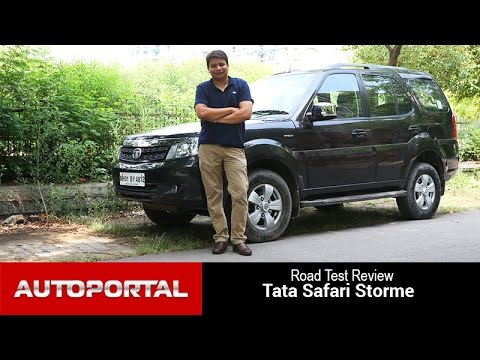 Tata Safari Storme 2015 Test Drive Review