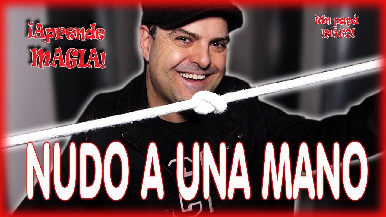 TRUCO DE MAGIA | NUDO A UNA MANO | APRENDE MAGIA | isFamilyFriendly