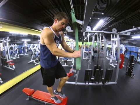 Back-Assisted Resistance Band Pull up--Knee