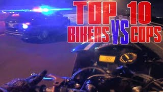 TOP 10 Motorcycle VS Police CHASE Compilation Motorcycles RUNNING From COPS Bike Chase GETAWAY Video