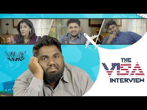 The Visa Comedy Interview  viva harsha comedy videos