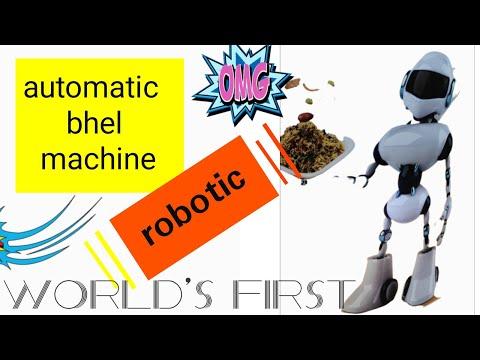 Instant Bhelpuri Machine